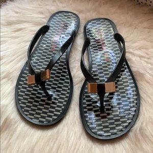 Coach Bow Sandals
